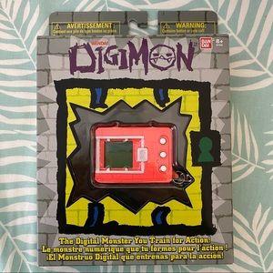 Digimon Digivice - Neon Red & White